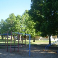 Flynn Primary school, playground and environs