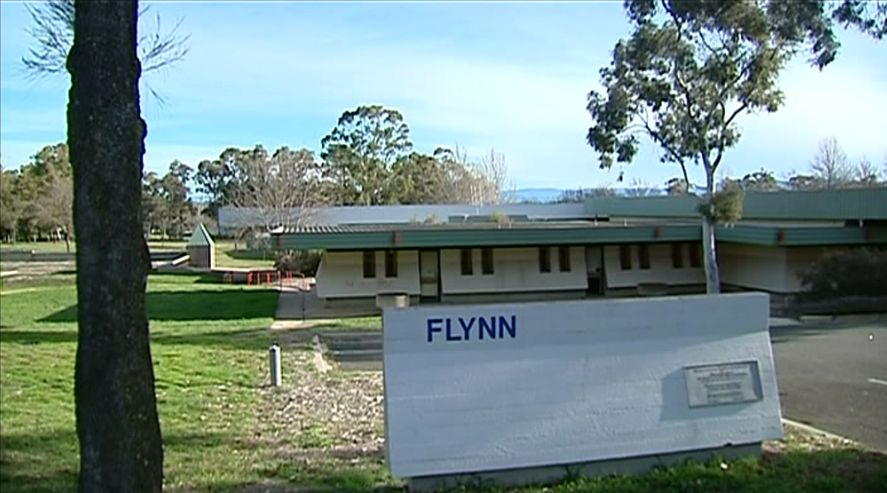 Flynn school, grounds and memorial